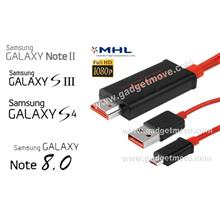 Samsung Galaxy S2 S3 S4 S5 Note 1 2 3 4 8.0 MHL HDMI HDTV AV Adapter