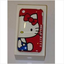 **BeautyMyth** Crystal Clear Hello Kitty Half Face iPhone 3G/ 3Gs Case..