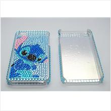 Diamond Encrusted Plastic Casing for iPhone 4/ 4S