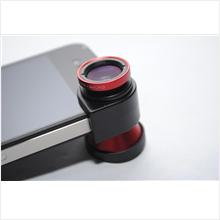 3 in 1 Camera Lens Kit (Fisheye/Wide-angle/Marco Lens) for iPhone 4/4S
