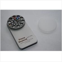 Happy Elephant Lens & Filter Turret with Plastic Case for iPhone 4/4S
