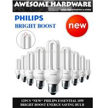 PHILIPS E27 BULB PHILIPS 18W BULB PHILIPS PLCE DOWNLIGHT 100%ORIGINAL