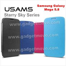 Usams Starry Sky  Samsung Galaxy Mega 5.8  Leather Case Smart Cover