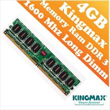 Kingmax DDR3 PC-1600 4GB Long Dimm (PC) Desktop Ram (1600Mhz)