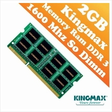Kingmax DDR3 PC-1600 2GB Short Dimm (Notebook) Ram (1600Mhz)