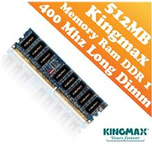 Kingmax DDR1 PC-400 512MB Long Dimm (PC) Desktop Ram (400Mhz)