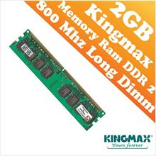 Kingmax DDR2 PC-800 2GB Long Dimm (PC) Desktop Ram (800Mhz)