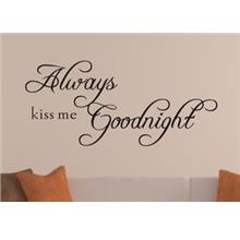 Always....Wall Sticker Quotes And Saying Decals Wallpaper home deco