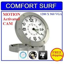 Spy CCTV Motion Detect Table Camera DVR Hidden Camcorder Alarm Clock
