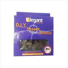 Fly screen- Elegant 3M DIY Magnetic Insect/Mosquito/Bug Screen 4' X 4'