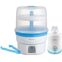Autumnz Electric Steam Steriliser + Home & Car Warmer Combo Promotion