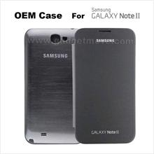 OEM Samsung Galaxy Note 2 II N7100 Flip Cover Leather Case NFC