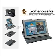 Samsung Galaxy Tab 2 Tab2 10.1 P5100 P5110 360� Rotating Leather Case