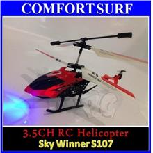 3.5 Channel Skywinner 808 RC Helicopter /w LED Light, 3D, Gyro