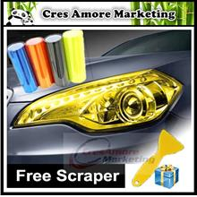 Free Gift + Car Headlight Taillight Tint Vinyl Film Sticker 12 colors