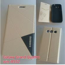 samsung galaxy win grand quattro i8552 metal plate flip battery cover