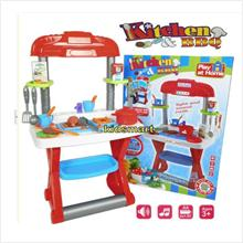 Kids kitchen & BBQ look like real Play Set (TT661-61A)