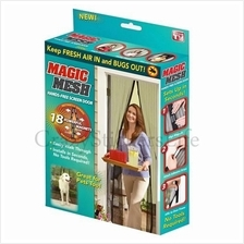 1 set Magic Mesh Instant Screen Door Keep Fresh Air In And Bugs Out!