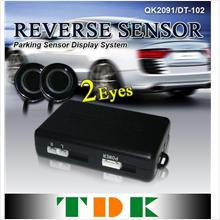 2-Eyes Accuracy Parking Reverse Sensor System