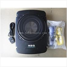 "MBQ 8"" Super Compact Underseat Active Subwoofer"