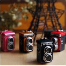 Mini TLR Twin Lens Reflex Flashlight Keychain