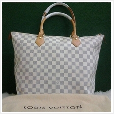 Authentic original LV Saleya GM Handbag Damier Azur@leluxebags