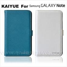 KAIYUE Book Cover Samsung Galaxy Note Leather Flip Case Cover