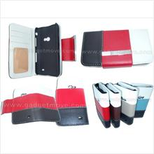 Wallet case Samsung Galaxy Beam Leather Case Book Cover