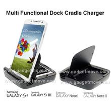 Samsung Galaxy S2 S3 S4 Note 2 3 4 2 in 1 Desktop Battery Charger