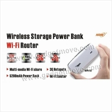 HAME A2 3G Wi-Fi Router & 5200mAh Power Bank mifi mobile hotspot A1