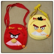 New Angry Bird Soft Sling Beg Red - LVRT0028