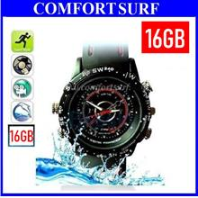 8GB Hidden Spy Pinhole Watch Hidden Camera DVR WaterProof Video Photo