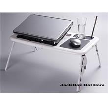 [Stock Clearance] Portable Foldable Laptop E-Table with Cooling Fan