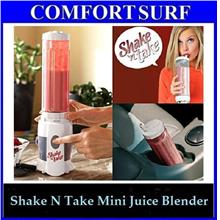 FREE GIFT Shake N Take 3 in 1 Juice mixer Fruit Yogurt Blender 2bottle
