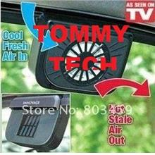 CRAZY DEAL Solar Powered fan Car Air Ventilation Systemes Auto Cooler