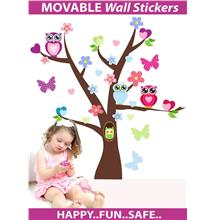 New Original Design-The Wonderful Owl World/Kid' Loving wall sticker