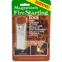 1 set Magnesium Firestarter Bar Tool w/ Striker Fire Starter