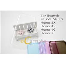 Huawei Honor 4X 4 X Thin Transparent TPU cover Case Screen Protector