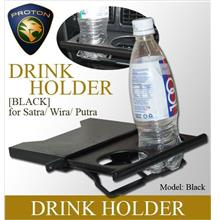 PROTON WIRA/SATRIA/GTI/PUTRA Black Color Drink Holder
