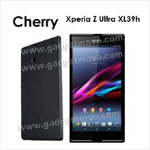 Cherry Sony Xperia Z Ultra XL39H Jelly Soft TPU SGP Back Case
