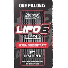 Nutrex Lipo 6 Black Ultra Concentrate (BAKAR LEMAK Fat Burner)