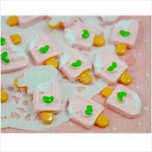 Light Pink Ice-Cream Stick Pastry Cabochon