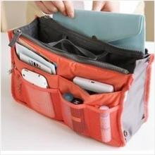 100% Original Korean Style Double Zipper Bag Organizer - Bag In Bag