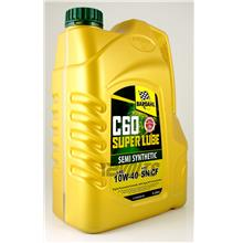 Bardahl C60 Super Lube Semi Synthetic Engine Oil SAE 10W40 SN/CF