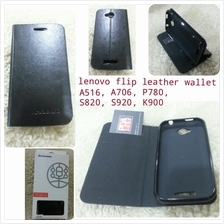 flip wallet case for Lenovo A706