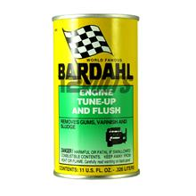 Bardahl Engine Tune Up & Flush removes gums, varnish and sludge