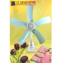 1pc 5 Blades Clip On Fan HJ-590A-5