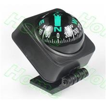 1pc Black Outdoor Waterproof Vehicle Car Boat Truck Navigation Compass