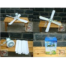 1pc 4 Blades Ceiling Fan HJ-990 - 78cm diameter