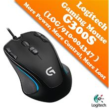 Logitech Gaming Mouse G300 More Power, More Control, More Loot